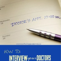 How To Find the Right Doctors: Interview Them