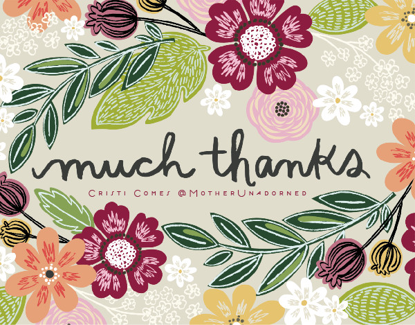 Beautiful Thank You Cards minted custom cards {review} - life unadorned