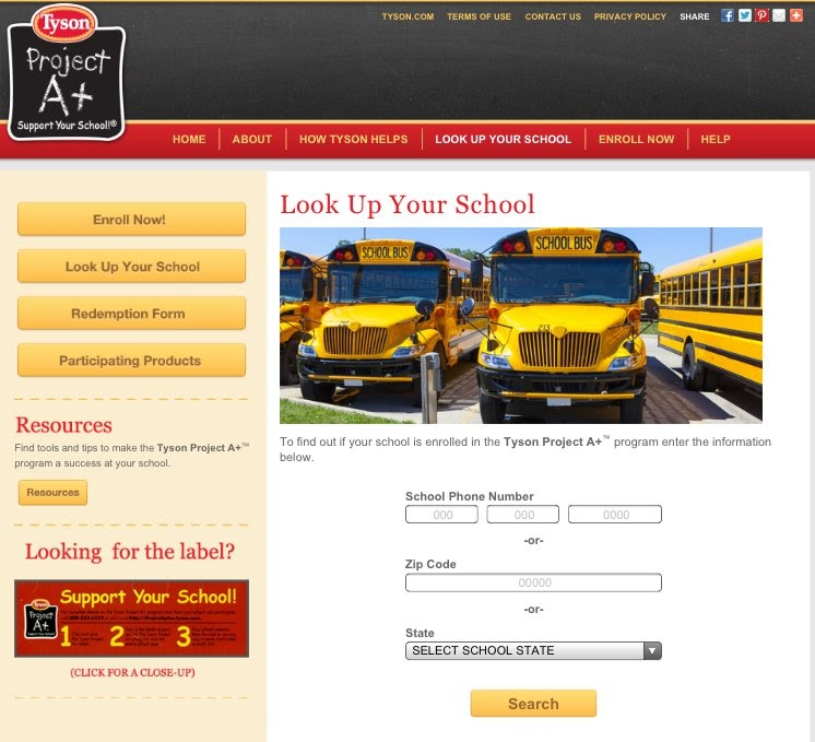 #ad school lookup