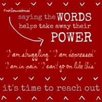 Saying the Words