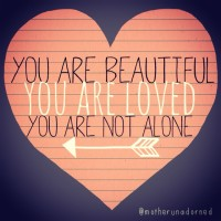 You are Not Alone. Crisis Resources.