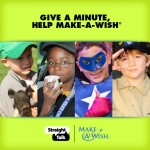 Give a Minute to Help Make-A-Wish