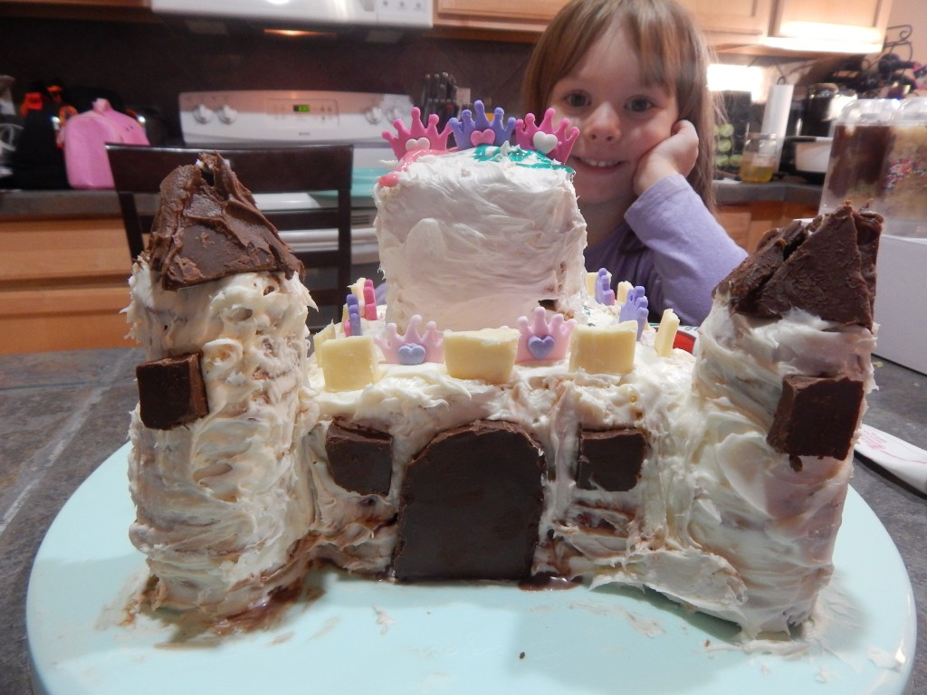 Ellie Castle Cake