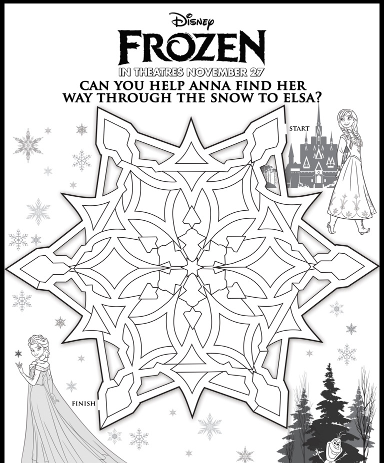 Disneys FROZEN Review Plus Kids Activities