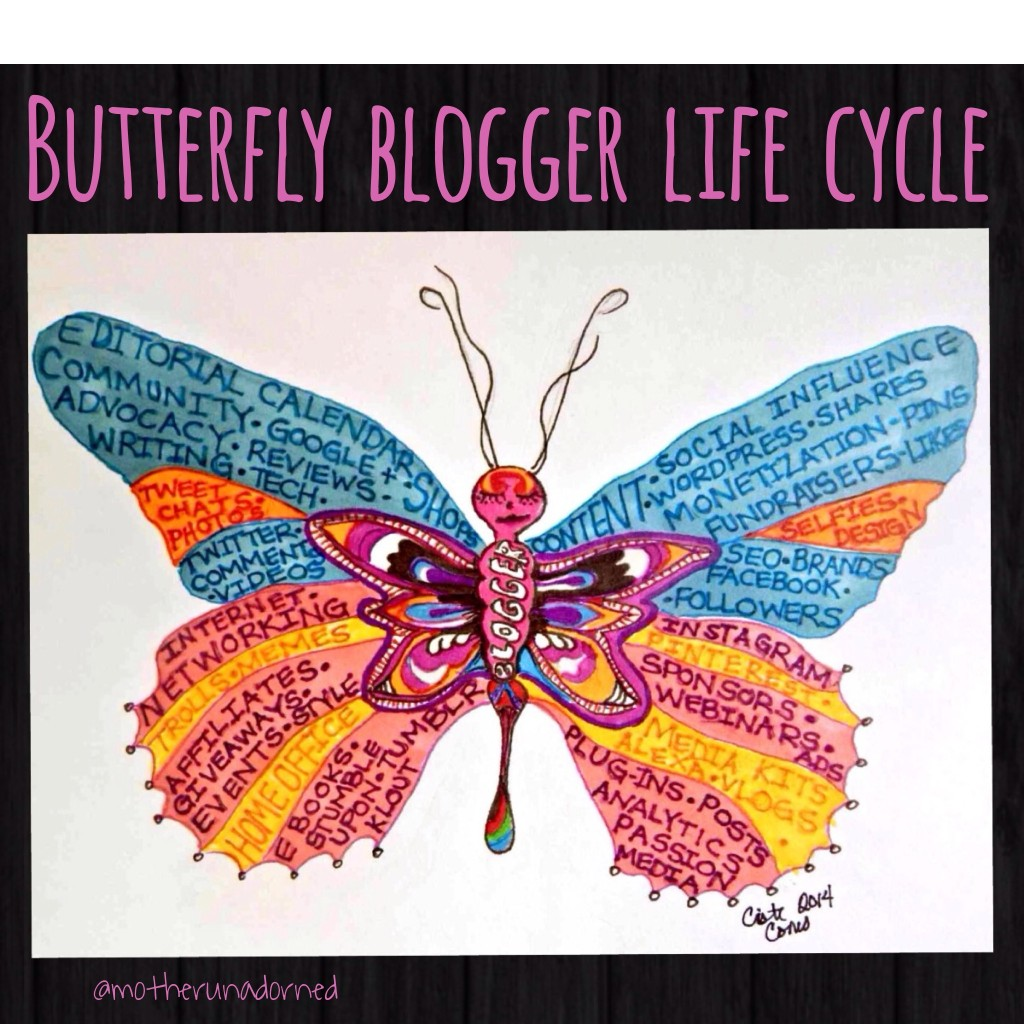 butterfly blogger