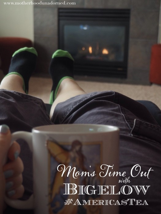 Mom's Time Out with Bigelow Tea #shop