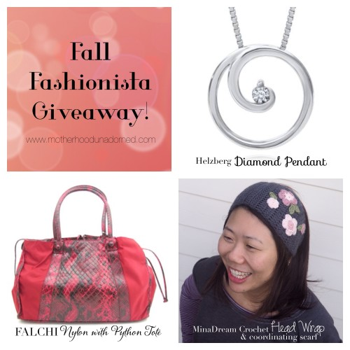 Fall Fashionista Giveaway #FashionistaEvents