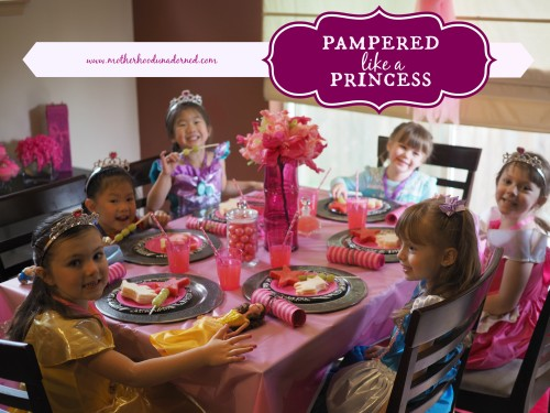 Princess Pampering Party Inspired by Sleeping Beauty