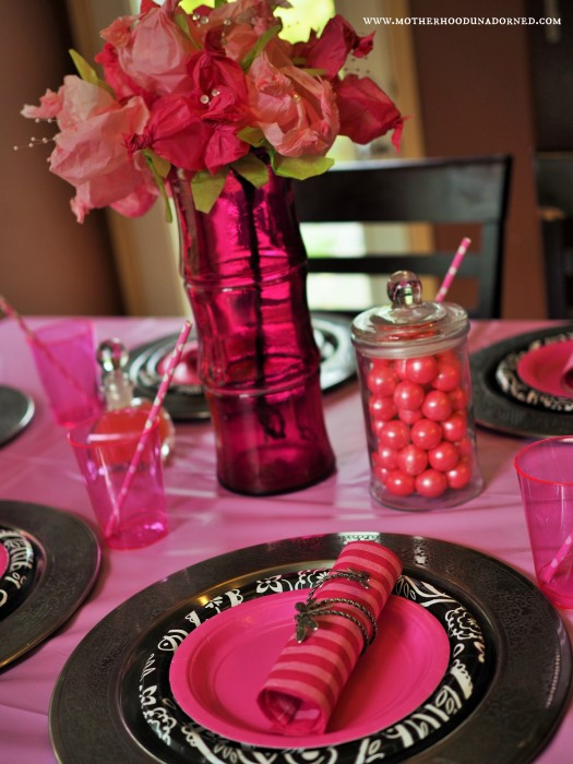 Princess Party Table