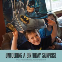 Unfolding a Birthday Surprise: Kids Poster Cards