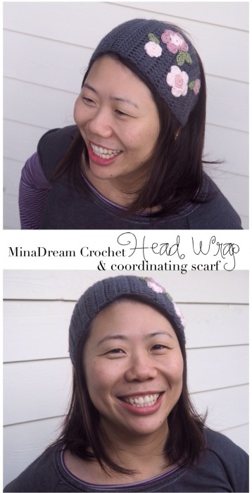 minadream headwrap and scarf