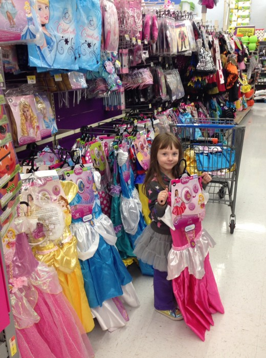 walmart princess costumes