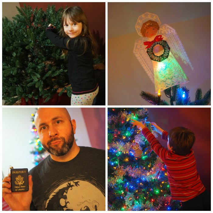 Decorating the Tree 2014