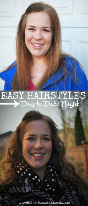 Easy Hairstyles Day to Date Night