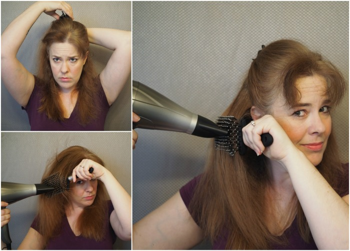 clip and blow dry