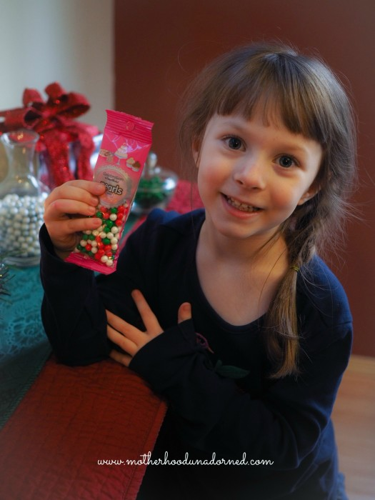 Ellie with Sweetworks Candy