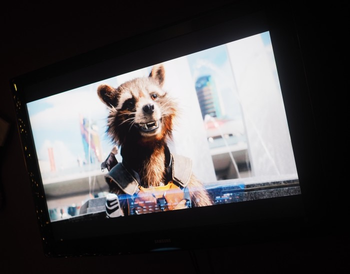 Rocket Raccoon #OwntheGalaxy #ad