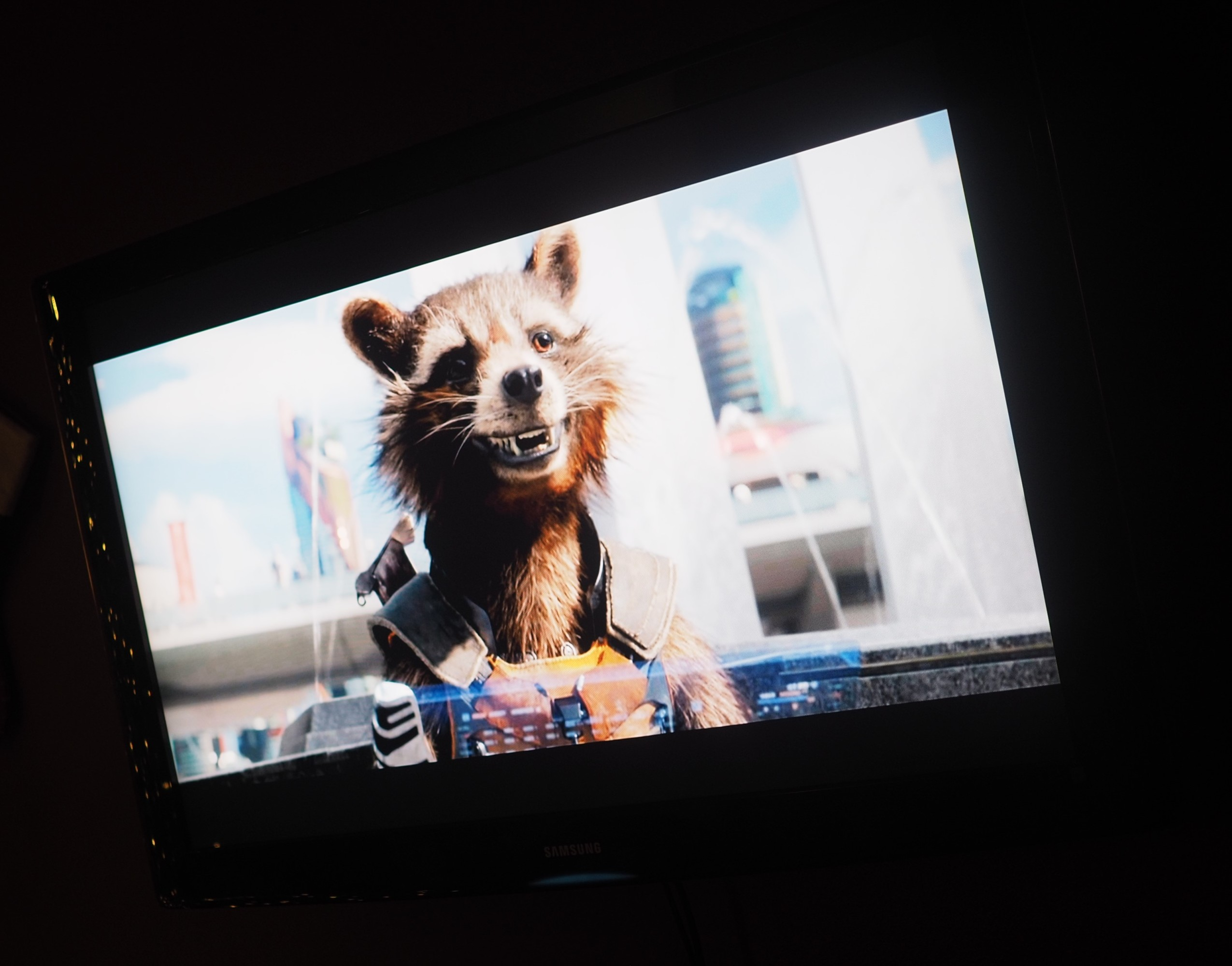 Guardians of the Galaxy Movie Night {Rocket Raccoon Veggie Tray, Baby