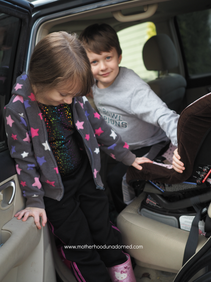 Transporting Kids to and from #dropshopandoil #ad