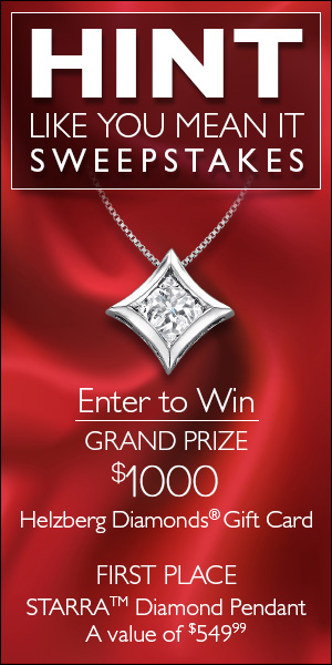 Helzberg Hint Like You Mean It Sweepstakes #ad