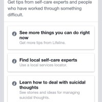 Facebook Rolls Out New Suicide Prevention Feature