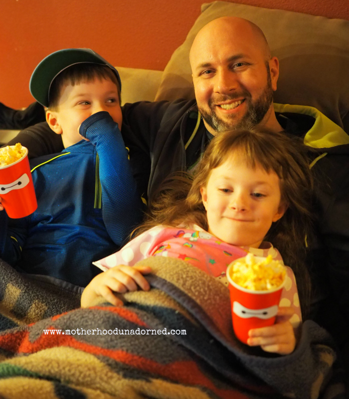 Big Hero 6 Family Movie Night #BigHero6Release #ad