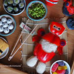 Big Hero 6 Movie Night with Baymax Rice Ball Tutorial #BigHero6Release #ad