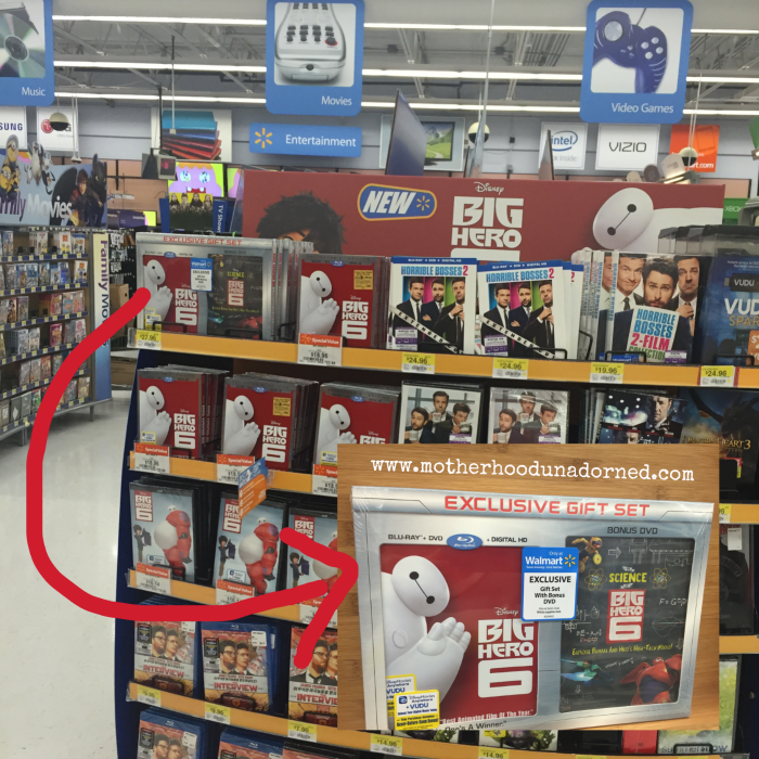 Big Hero 6 at Walmart #BigHeroRelease #ad