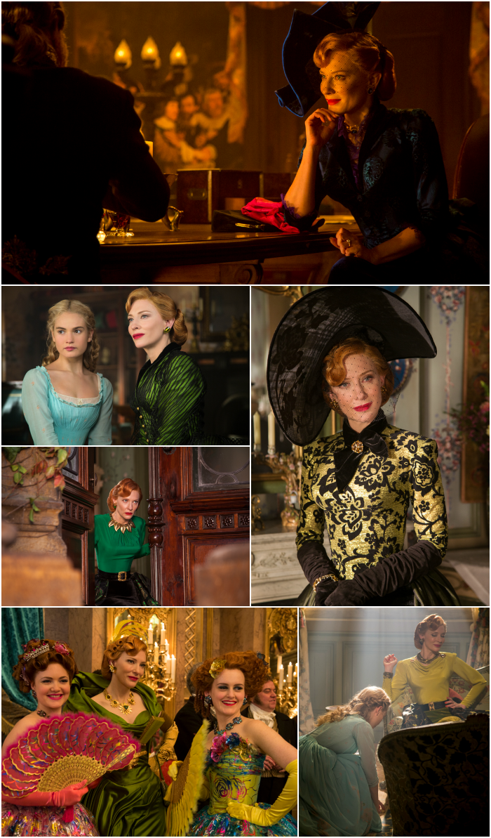 Cinderella the Wicked Stepmother Cate Blanchett