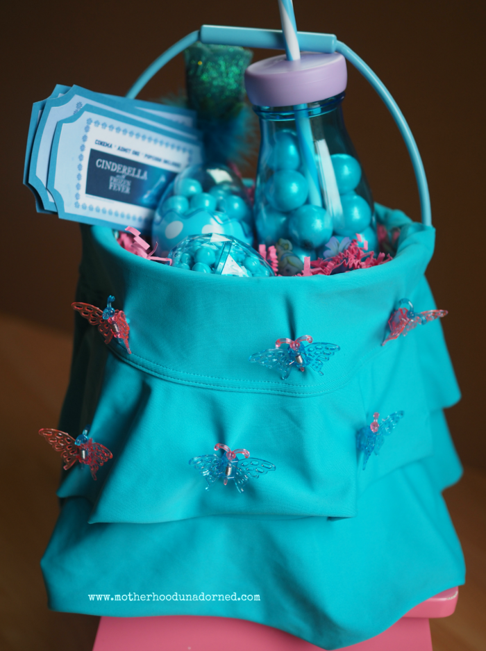 New Sew Cinderella Inspired Easter Basket Party Ideas #DisneyEaster #ad