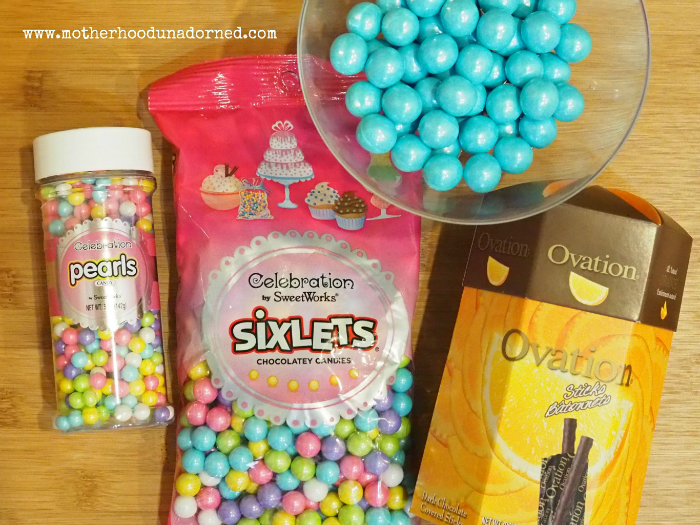 Sweetworks candies I used #cakemyday #ad