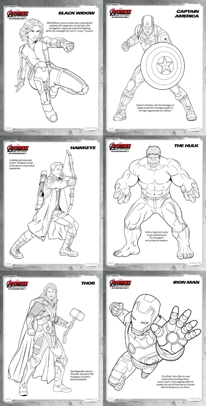 Avengers: Age Of Ultron {Review And Free Printables}