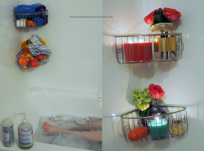 Bath time before and after #smellsclean #ad