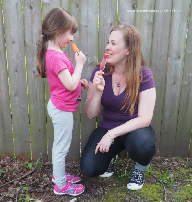 Enjoying warm weather treats #sensitivesmiles #ad