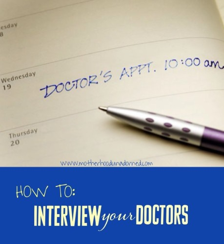How to Find the Best Doctor Interview Them