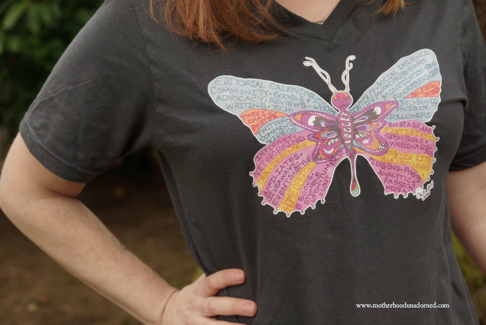 blogger butterfly T