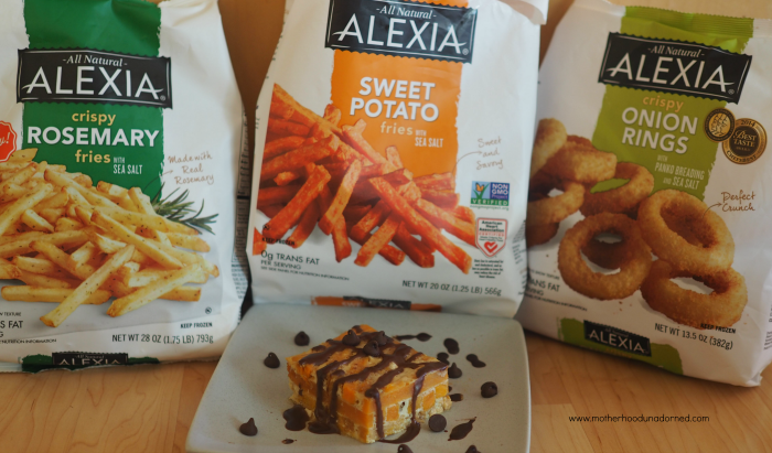Alexia Rosemary Fries, Sweet Potato Fries and Onion Rings #SpringintoFlavor