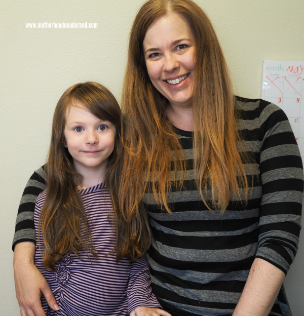 Ellie and I have a lot of hair and it sheds #cleaninguntangled #ad