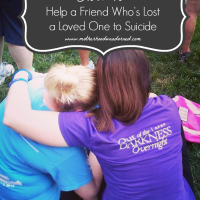 How to Help a Friend Who's Lost a Loved One to Suicide