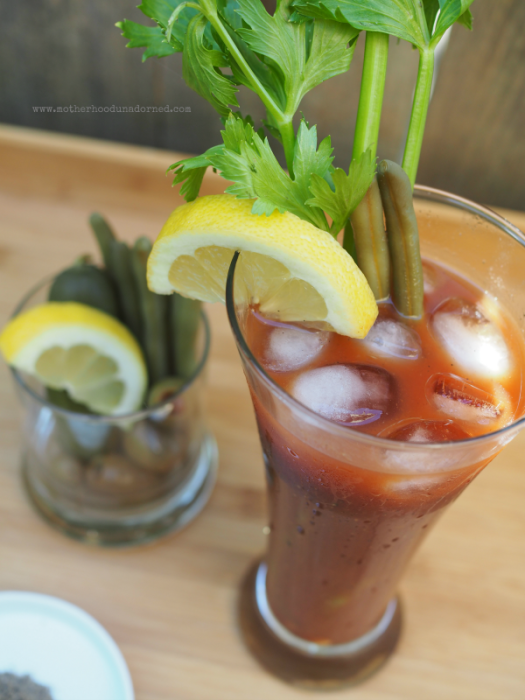 New Orleans Style Bloody Mary Boosted #V8EnergyBoost #ad