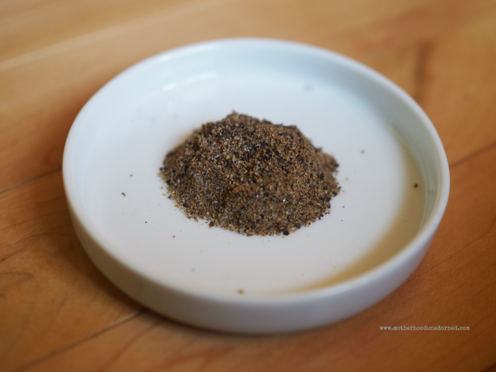 Sea salt, pepper and coriander spice mix #V8EnergyBoost #ad