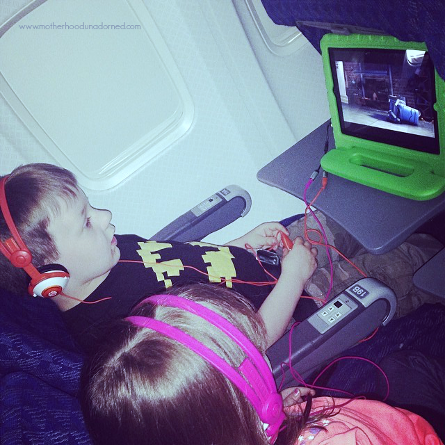 Tips & Rookie Mistakes for Air Travel with Kids