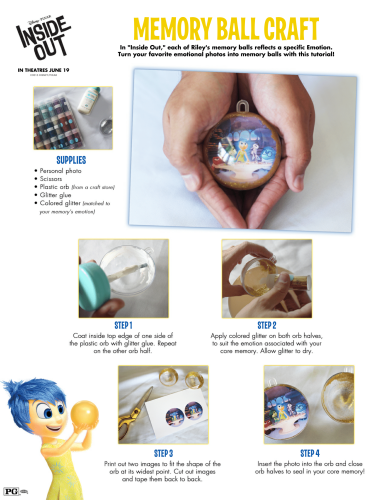 Inside Out Memory Ball Craft-1