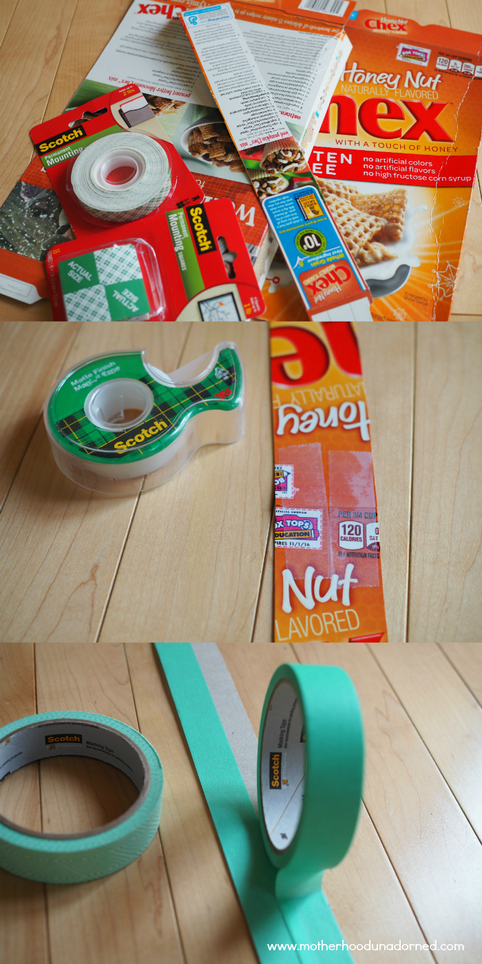 Create Vision Board Frame from Cereal Box #ProjectAmazing