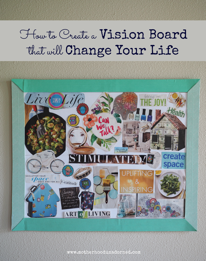 How to create a Vision Board that will Change Your Life #ProjectAmazing AD