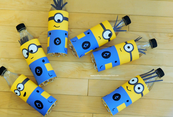 Minions inspired bowling pins