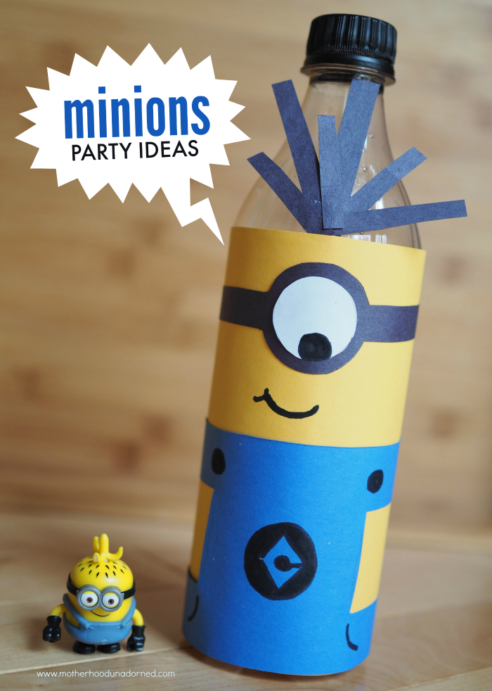 Minions inspired party ideas