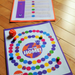 Printable Board Game Inspired by HOME The Movie {Review and Kids Activities}