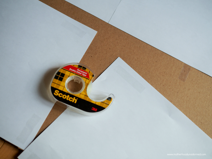 Scotch Permanent Double Sided Tape #ProjectAmazing AD