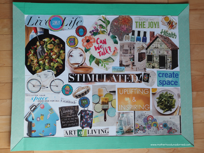 Vision Board #ProjectAmazing AD
